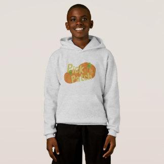 Pumpkin Of The Patch Kids' Hoodie