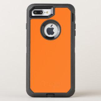 Pumpkin Orange OtterBox Defender iPhone 7 Plus Case