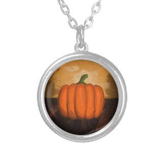 Pumpkin Painting Necklace