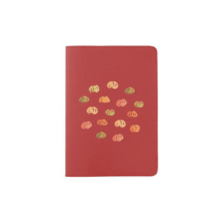 Pumpkin Passport Holder