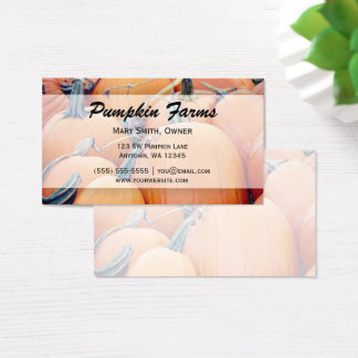 Pumpkin Patch Business Card