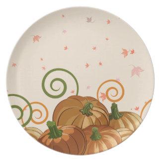 Pumpkin Patch Dinner Plates