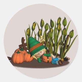 Pumpkin Patch Dreamer Stickers