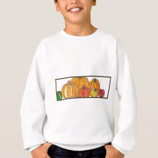 Pumpkin Patch - Fall Pumpkin Designs Sweatshirt