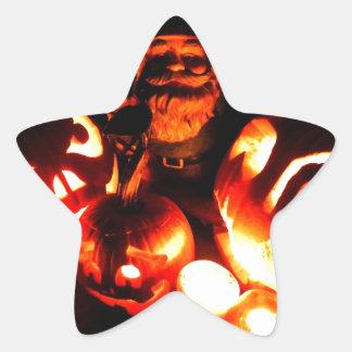 Pumpkin Patch Gnome IV Star Sticker