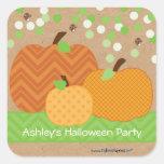 Pumpkin Patch - Halloween or Fall Party Sticker