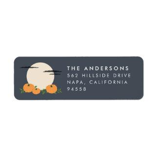 Pumpkin Patch Halloween Return Address Return Address Label