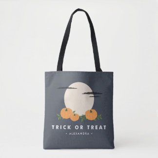 Pumpkin Patch Halloween Trick or Treat Tote Tote Bag