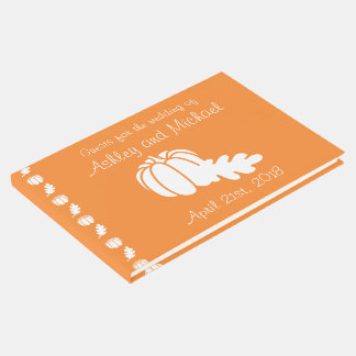 Pumpkin Patch in Orange Guest Book