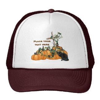 Pumpkin patch Kitty Halloween Hat
