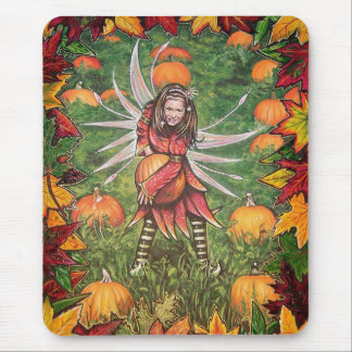 Pumpkin Patch Mouse Pad