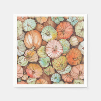 Pumpkin Patch Paper Napkins