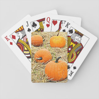Pumpkin Patch Playing Cards