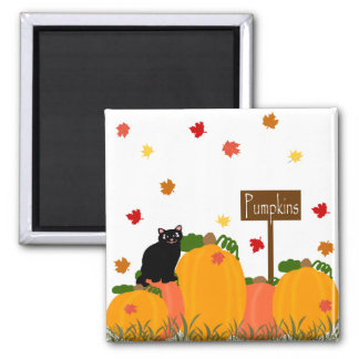 Pumpkin patch sign magnet