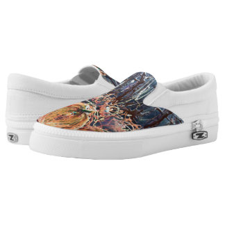 Pumpkin Patch Slip on Shoes Printed Shoes
