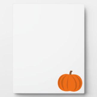 Pumpkin Photo Plaques