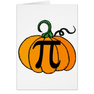 Pumpkin Pi Card