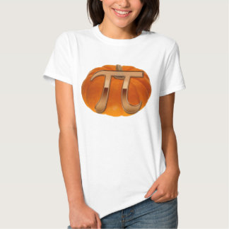 Pumpkin Pi Funny Math-lover's T-Shirt