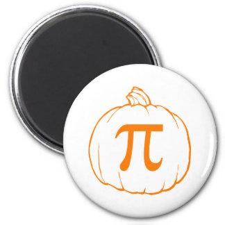 Pumpkin Pi (pie) Mathematics Humour 6 Cm Round Magnet