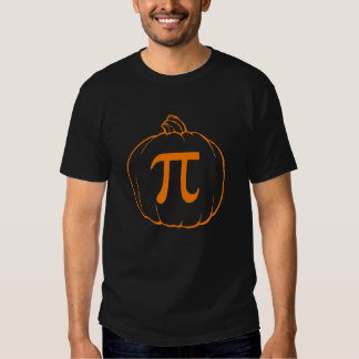 Pumpkin Pi (pie) Mathematics Humour T-shirt