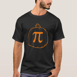 Pumpkin Pi (pie) Mathematics Humour T-Shirt