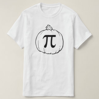 Pumpkin Pi (pie) Mathematics Humour Tshirt