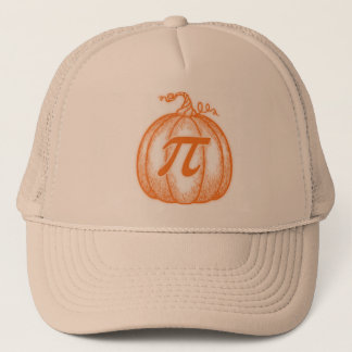 Pumpkin Pi Trucker Hat
