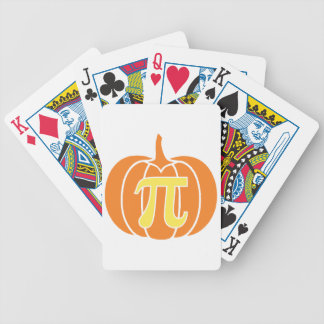 Pumpkin Pie Bicycle Playing Cards