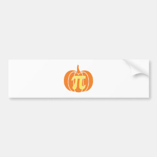 Pumpkin Pie Bumper Sticker