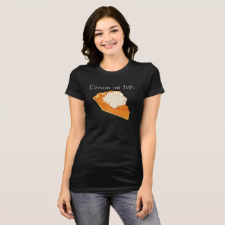 Pumpkin Pie Cream on Top Jersey T-Shirt