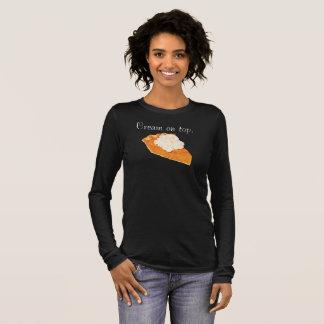 Pumpkin Pie Cream on Top LongSleeve T-Shirt