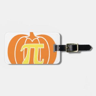 Pumpkin Pie Luggage Tag