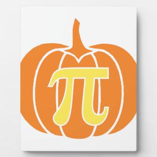 Pumpkin Pie Plaque