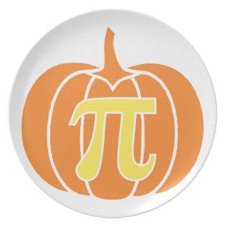 Pumpkin Pie Plate