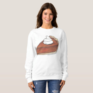 Pumpkin Pie Slice w/ Whipped Cream Sweatshirt