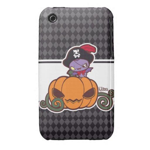 Pumpkin Pirate iPhone 3 Cover