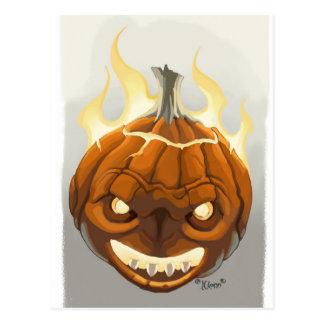 Pumpkin' Post Cards