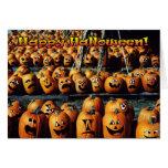 'Pumpkin Rally' Halloween Card
