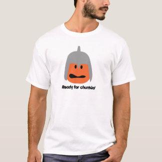 Pumpkin ready for chunkin t-shirt
