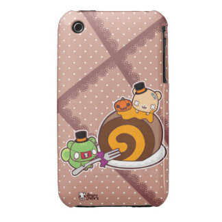 Pumpkin Roll Delight iPhone 3 Case-Mate Case