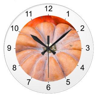 Pumpkin Season Large Clock