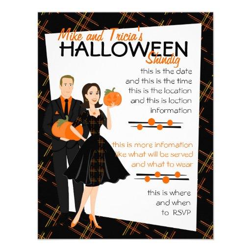 Pumpkin Shindig Invite