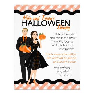 Pumpkin Shindig Personalized Invitation
