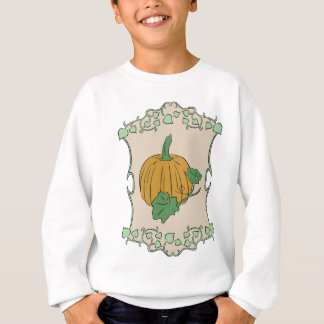 Pumpkin Sign Sweatshirt
