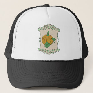 Pumpkin Sign Trucker Hat