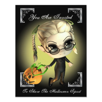 Pumpkin Slayer Halloween Party Invitation