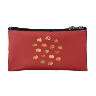Pumpkin Small Cosmetic Bag