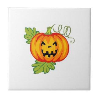 Pumpkin Small Square Tile