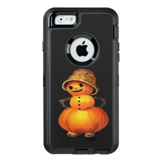 Pumpkin Snowman Vintage Halloween OtterBox iPhone 6/6s Case