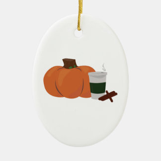 Pumpkin Spice 2 Ceramic Ornament